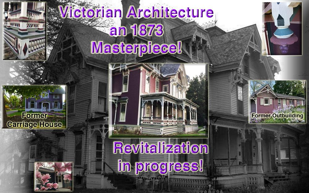Zehr Estate Waverly New York Eastlake Victorian